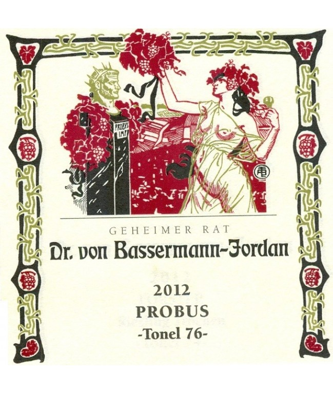 """Probus Tonel 76"" Riesling Trocken 2012 0,75l"