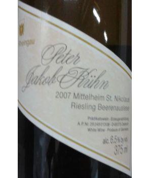 ST. NIKOLAUS Riesling Beerenauslese GL 2007 0,375L
