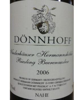 HERMANNSHÖHLE Riesling Beerenauslese GL 2006 0,75L