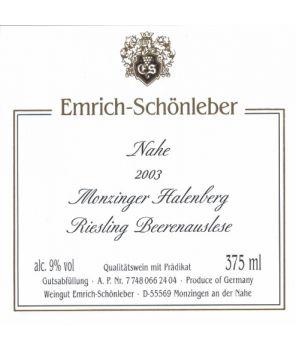 HALENBERG Riesling Beerenauslese GL 2003 0,375L