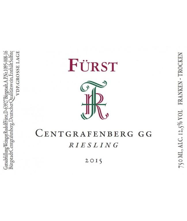 CENTGRAFENBERG Riesling GG 2015 0,75l