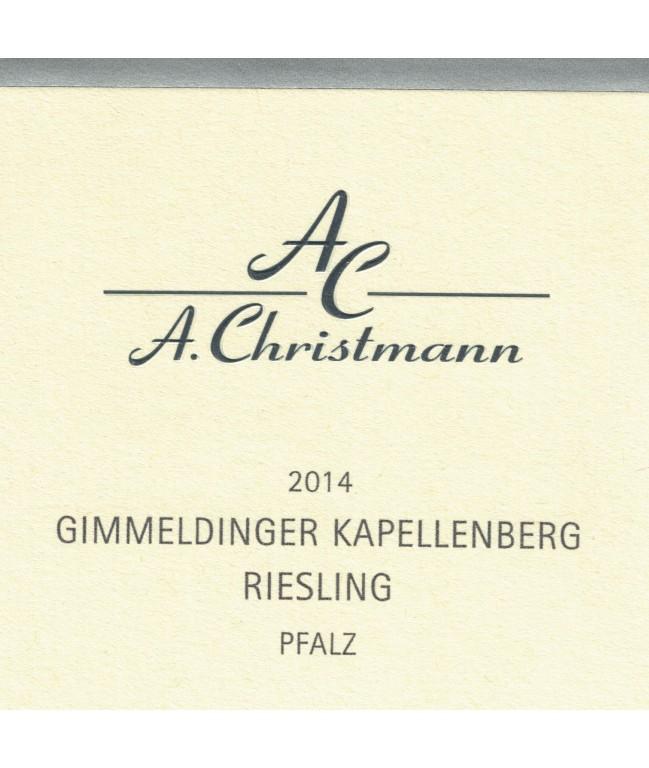 """Kapellenberg """"VDP.Erste Lage"""" Riesling Trocken 2014 0,75l"""