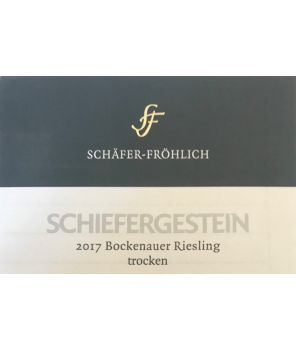 """""""Bockenauer Schiefergestein"""" Riesling Trocken 2017 0,75l"""