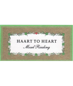 """Haart to Heart"" Riesling 2017 0,75l"