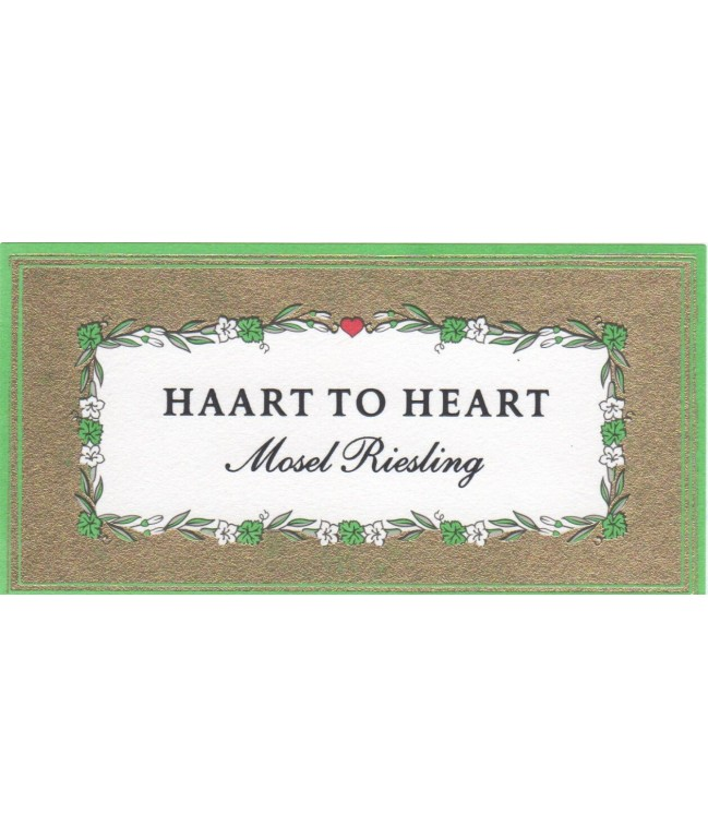 """""""Haart to Heart"""" Riesling 2017 0,75l"""