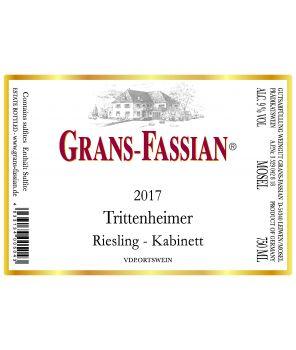 """""""Trittenheimer Riesling Kabinett"""" 2017 0,75l"""