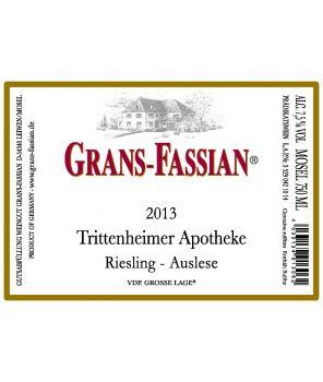 APOTHEKE Riesling Auslese-Goldkapsel GL 2013 0,75L