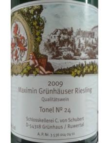 """""""Maximin Grünhauser Monopole Riesling Tonel 15"""" 2016 0,75l"""