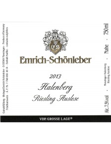 HALENBERG Riesling Auslese 2013 0,75l