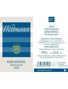 KIRCHSPIEL Riesling GG 2016 0,75l