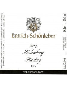 HALENBERG Riesling GG 2014 3L