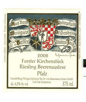KIRCHENSTÜCK Riesling Beerenauslese GL 2008 0,375L