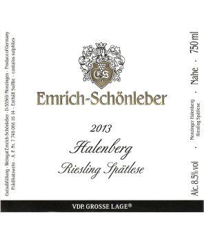 HALENBERG  Riesling Spätlese GL 2013 0,75L