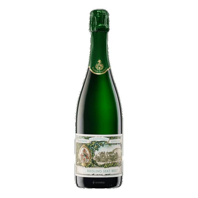 """Maximin Grünhaus Riesling Brut"" Sekt 2014 0,75L"