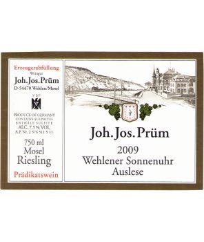 SONNENUHR (Wehlen) Riesling Auslese GL 2009 0,375L