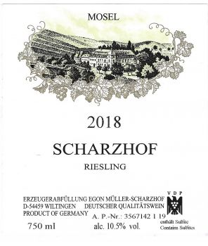 """""""Scharzhof"""" Riesling GW 2018 1,5L"""
