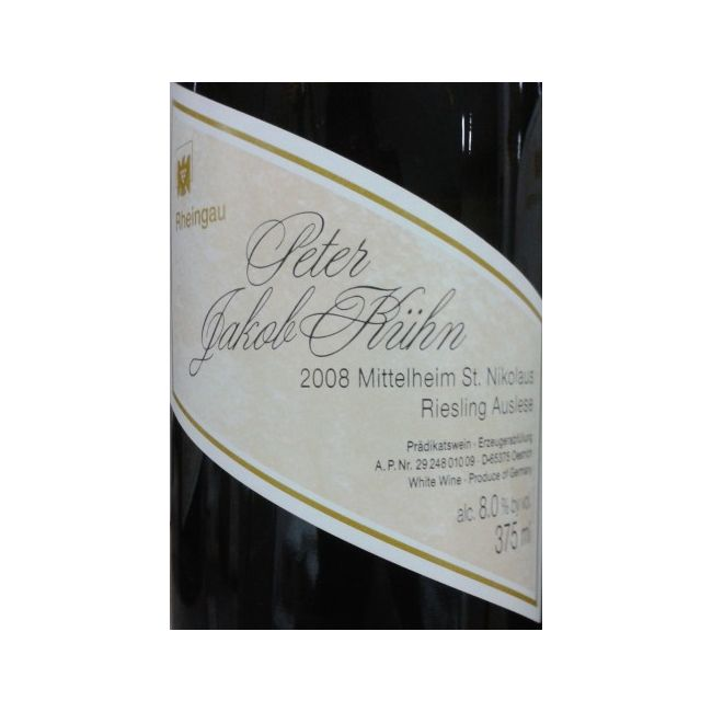 ST. NIKOLAUS Riesling Auslese GL 2008 0,375L