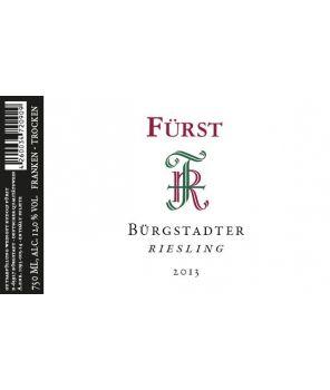 """""""Bürgstädter Riesling"""" Trocken 2013 0,75l"""